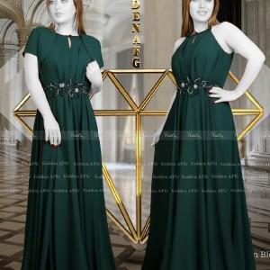 لباس مجلسی 2ps نامزدی کاترین مدل ترک-تصویر 3