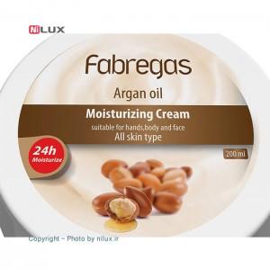 کرم مرطوب کننده فابریگاس مدل Argan Oil حجم 200 میلی لیتر-تصویر 2