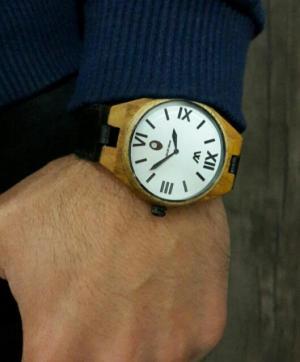 ساعت مچی چوبی مردانه-تصویر 2