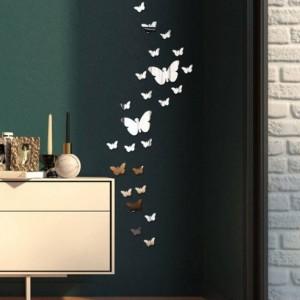 آینه پلکسی تزئینی طرح پروانه-تصویر 4