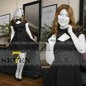 پیراهن مجلسی کوتاه مدل سولماز-تصویر 3