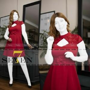 پیراهن مجلسی کوتاه مدل سولماز-تصویر 2