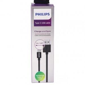 کابل تبدیل USB به USB -C فیلیپس مدل DLC2412U طول 1 متر-تصویر 2
