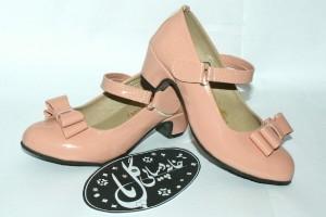 کفش ورنی دخترانه پاشنه دار