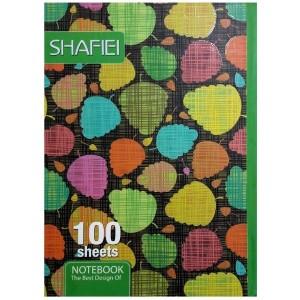 دفتر مشق 100 برگ شفیعی shafiei کد 9930