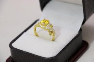 انگشتر ظریف و زیبای نقره-تصویر 3