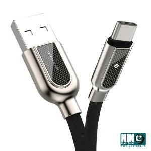 کابل شارژ USB-C توتو مدل HAN به طول 1 متر(قرمز)-تصویر 3