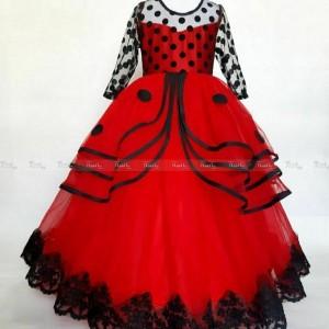 لباس مجلسی دختر کفشدوزکی