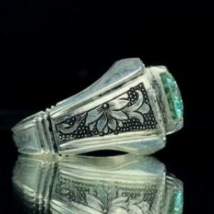 انگشتر موزانایت اصلی (الماس روسی)-تصویر 3