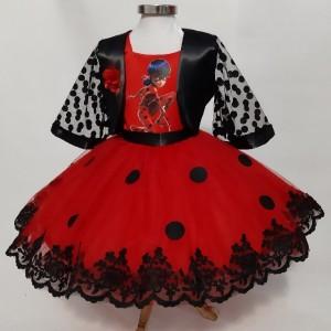 لباس دختر کفشدوزکی مجلسی