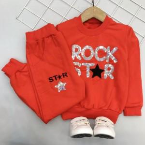 بلوز شلوار دخترانه ROCK STAR-تصویر 4