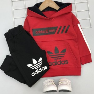 هودی شلوار پسرانه adidas neo-تصویر 5