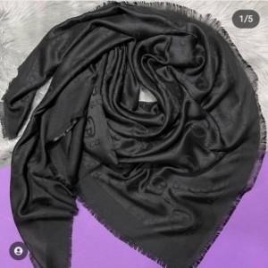 روسری نخی مشکی