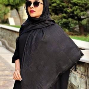 روسری نخی مشکی-تصویر 4