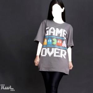 تی شرت لانگ زنانه