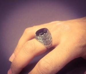 انگشتر مردانه - a14-تصویر 4