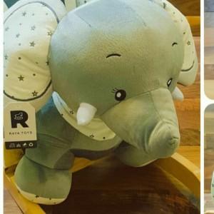 راکر فیل، مبله وپشتی دار