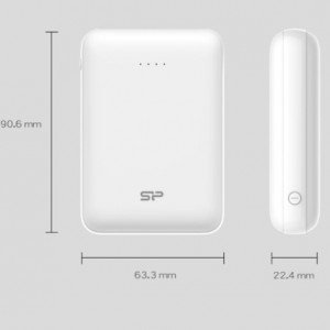 شارژر همراه سیلیکون پاور مدل C100 ظرفیت 10000 میلیآمپرساعت-تصویر 5