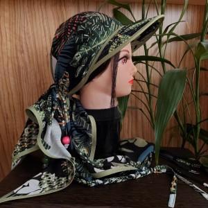 ست اسکارف و کلاه طبیعتگردی-تصویر 2