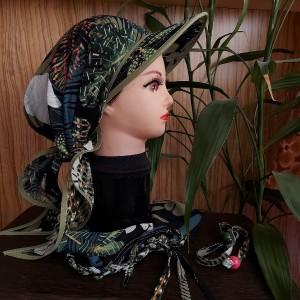ست اسکارف و کلاه طبیعتگردی