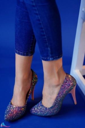 کفش مجلسی لمه شنی