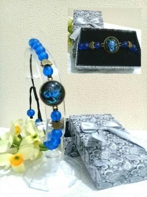 دستبند اسپرت با نماد ماه آبان-تصویر 2