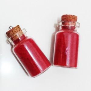 بطری عشق مدل شن سرخ