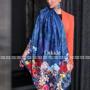 روسری ابریشم فاستونی دیجیتال 166-21