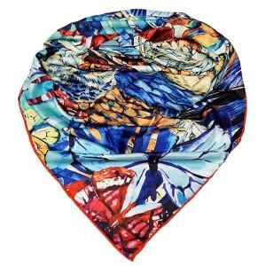 روسری ابریشم فاستونی دیجیتال 166-24-تصویر 3