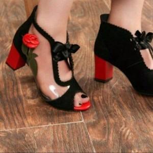 کفش مجلسی طلقی گل