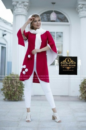 مانتو عید مدل شکوفه-تصویر 3