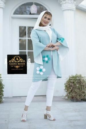 مانتو عید مدل شکوفه-تصویر 5