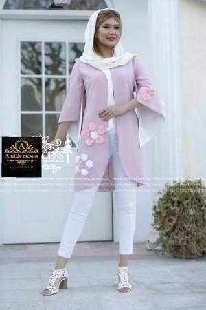 مانتو عید مدل شکوفه-تصویر 2