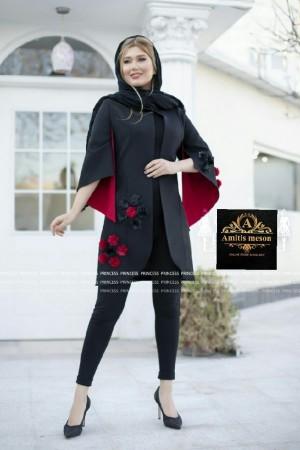 مانتو عید مدل شکوفه-تصویر 4