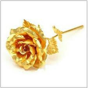 شاخه گل رز طلا-تصویر 5