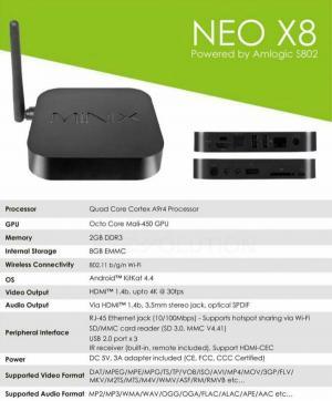 MINIX NEO X8 | اندروید باکس مینیکس-تصویر 2