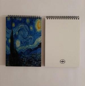 دفتر جلد سخت شب پر ستاره-تصویر 5