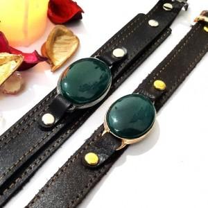 ست دستبند مردانه و زنانه عقیق