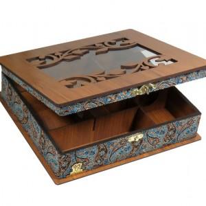 جعبه پذیرایی و دمنوش و کادویی لوکس باکس کدLB54