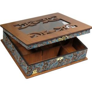 جعبه پذیرایی و دمنوش و کادویی لوکس باکس کدLB54-تصویر 3