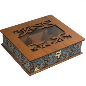 جعبه پذیرایی و دمنوش و کادویی لوکس باکس کدLB54-تصویر 2
