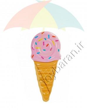 تشک روی آب اینتکس طرح بستنی قیفی