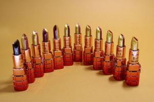 رژ لب جامد دو رنگ گلد تالامی-تصویر 2