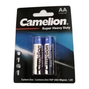 باتری قلمی Camelion مدل Super Heavy Duty (کارتی 2 تایی)