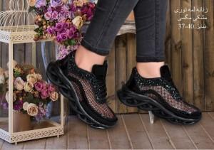کفش زنانه لمه ای توری