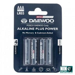 باتری نیم قلمی دوو مدل Alkaline plus Power