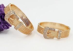 دستبند طرح طلا ژوپینگ