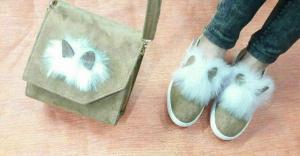 ست کیف و کفش خرگوشی-تصویر 4