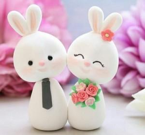 عروسک خمیری خرگوش