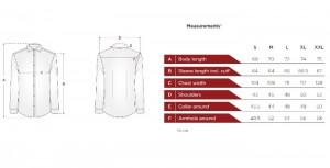 پیراهن جعبه ای مردانه ادموند طرح ساده ارغوانی-تصویر 5